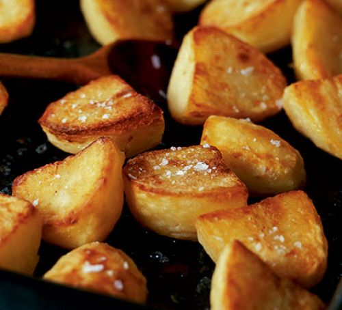 how many calories in roast potatoes photo - 1