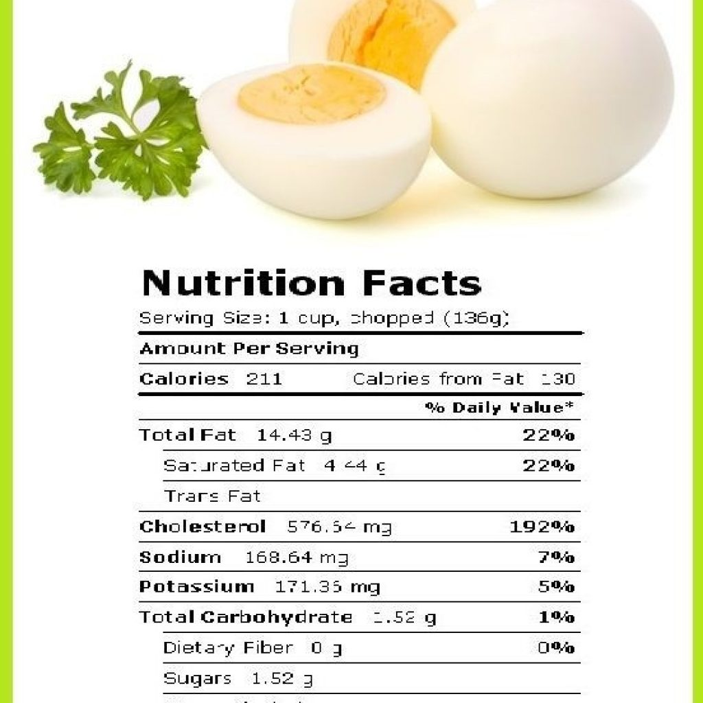 how many carbs in a hard boiled egg photo - 1