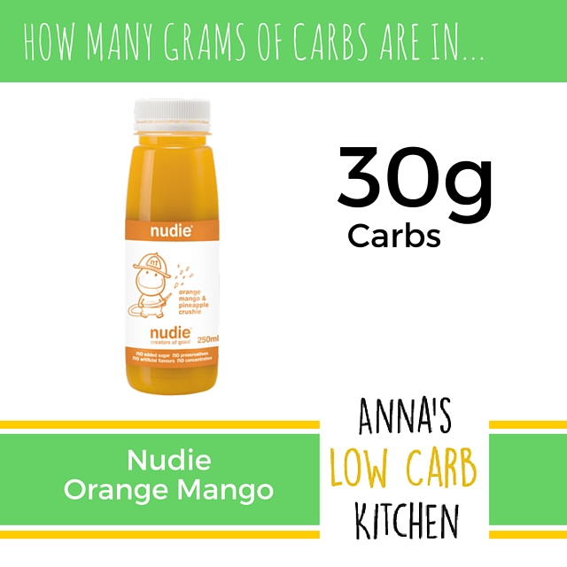 how many carbs in orange juice photo - 1