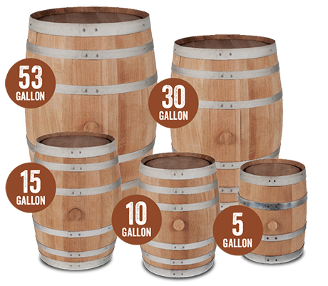 how many gallons in a whiskey barrel photo - 1