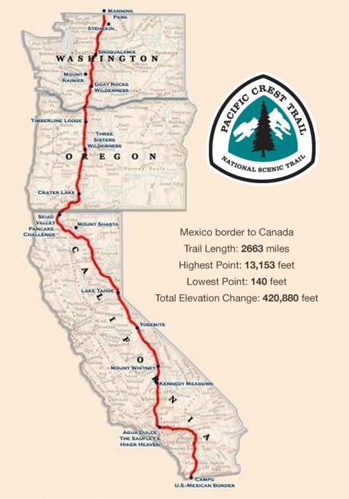 how many miles is the pct photo - 1