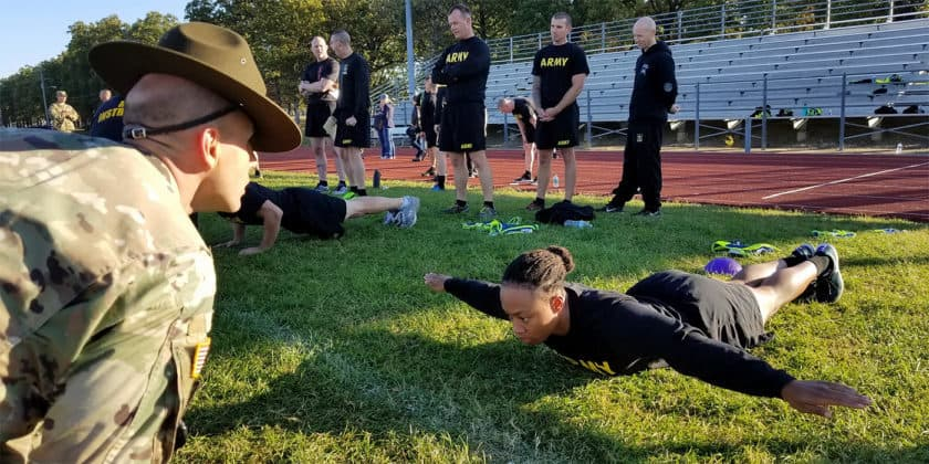how many push ups for army photo - 1